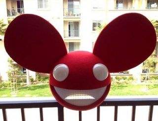 Sound Activated Lighting Mouse Mask Home Made Deadmau5 Head Replica