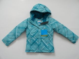 New NWT Girls 10 12 Colombia Triple Run jacket winter coat hooded
