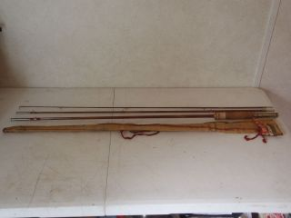 Condition Southbend No 55 Split Bamboo Rod   NICE Estate Find
