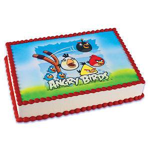 Angry Bird Edible Cake Topper Party Supplies Cake Decoration Cake