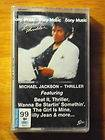 MICHAEL JACKSON THRILLER CASSETTE TAPE ORIGINAL