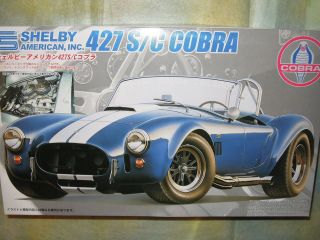 Fujimi 1/24 Shelby 427 S/C Cobra Model Car Kit