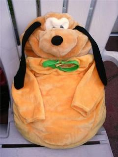 DARLING DISNEY PLUTO 3D PLUSH PUPPY DOG COSTUME & HAT 6   9 MONTHS