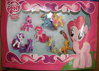 2012 McDonalds Toys ~ My Little Pony ~ Friendship Magic ~ 8 toys