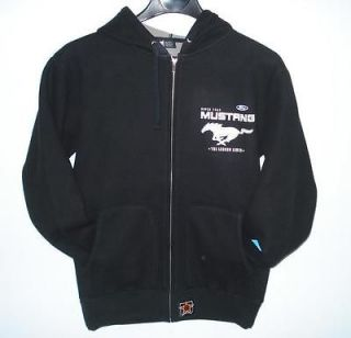 NASCAR FORD MUSTANG RACING HOODIE Zipper Cotton XL