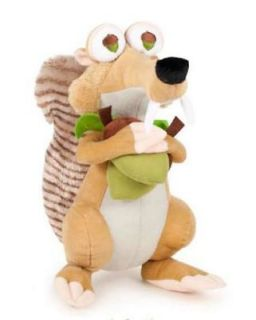 Scrat Crazy 7 Plush Squirrel Ice Age Continental Drift Teddy Bear