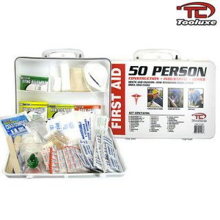 New Tooluxe OSHA Approved 50 Person Medical First Aid Kit