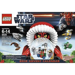 LEGO 2012 Star Wars Advent Calendar 9509 New In Box in Hand