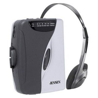 Personal AM /FM Cassette Player (Jensen Walkman Type)