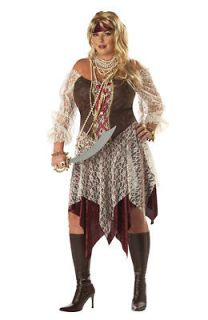 Plus Size South Seas Siren Pirate Costume size3XL 18 20