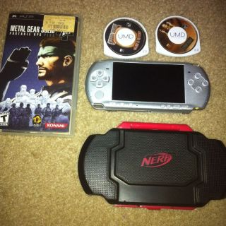 3000 Mystic Silver Handheld System Metal Gear Solid And Chris Rock