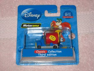 NEW DISNEY MOTORAMA CAR DIE CAST MENTAL COLLECTION 3rd EDITION SCALE 1