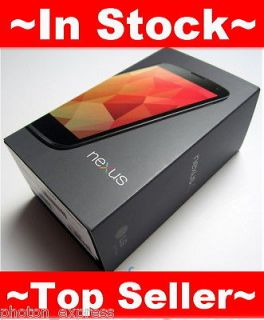 New Google Nexus 4 (LG E960) 8GB Factory Unlocked GSM Phone 4.7 True