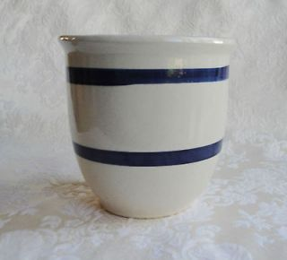roseville pottery blue stripe in Pottery & China