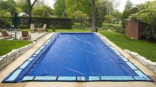 Winter Pool Cover Inground 20X40 Ft Rectangle Arctic Armor 15 Yr