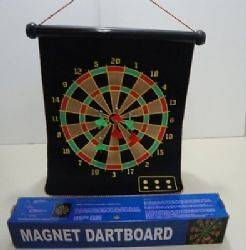 Wholesale 18.5x14.5 Two Sided Magnetic Dart Board In A Box