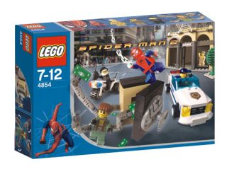 Lego Spider Man 2 Doc Ocks Bank Robbery 4854