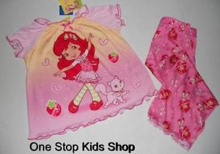 strawberry shortcake pajamas in Clothing,