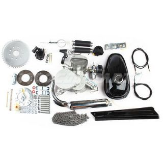 80cc Bike Engine Motor Kit Gas Motorized Bicycle 2 Stroke New