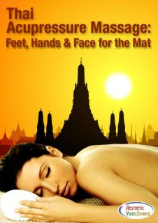 Thai Acupressure Massage & Spa Video on DVD   Feet, Hands & Face for