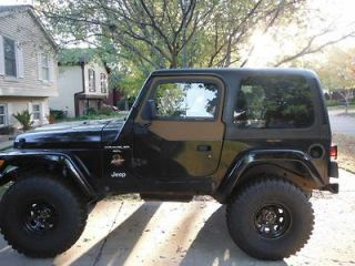 Wrangler TJ Black Hard Top Hardtop Great condition w/Tinted Windows