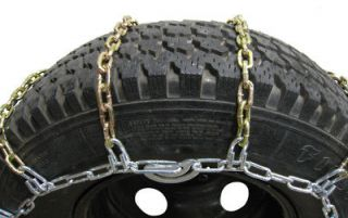 Semi Tractor Truck Snow Dual Tire Chains 285/75R24.5