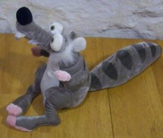 Ice Age 2 The Meltdown SCRAT 9 Plush STUFFED ANIMAL Toy