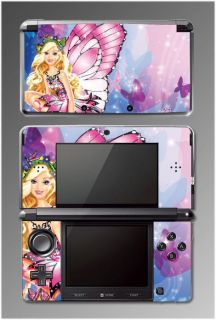 Barbie Butterfly Princess Queen Video Game Vinyl SKIN Cover 2 for