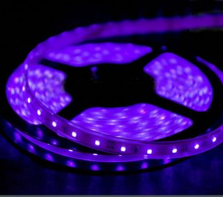 Pool Outdoor WaterProof LED Tape Lighting 5M 16 ft Strip 300 LEDs SMD