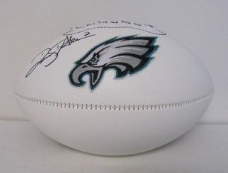 David Akers Autographed Philadelphia Eagles Football SI Holo