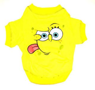Sponge Bob Squarepants Official Tee Shirt for Dogs