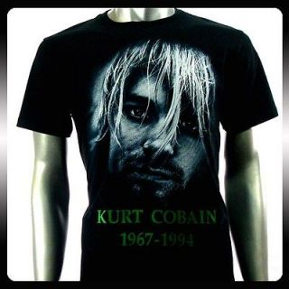 Nirvana Kurt Cobain Rock Punk Music Band T shirt Sz M NI31