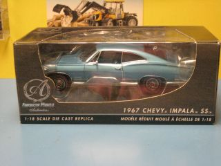 AMERICAN MUSCLE ERTL 1967 CHEVY IMPALA SS 427 AUTHENTICS NIB