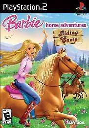 Barbie Horse Adventures Riding Camp (PlayStation 2, 2008) PS2 Brand