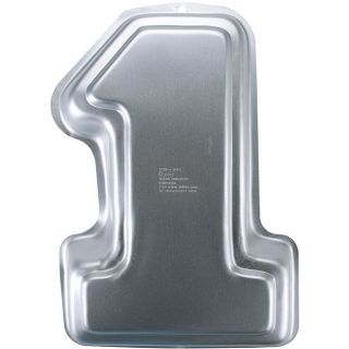 Wilton Number 1 Novelty Cake Pan   Cake Pans Novelty #1 15 1/4X10X2