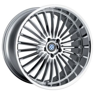 20x8.5 Beyern Multi Chrome Wheel/Rim(s) 5x120 5 120 20 8.5 BMW