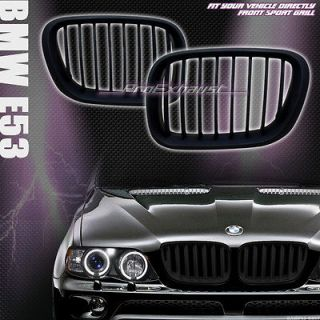 FRONT HOOD BUMPER GRILL GRILLE ABS 00 03 BMW E53 X5 SUV (Fits BMW X5