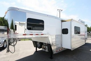 New 2013 Bloomer 3 Horse Trailer with 14 Living Quarters