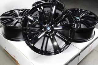 17 BMW Wheels Rims 5x120 Black Chrome 128 135 318 323 325 328 330 335