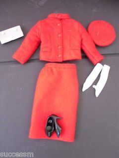 Franklin Mint Jackie Michelle Obama Doll Red Mountie Outfit OUT OF BOX