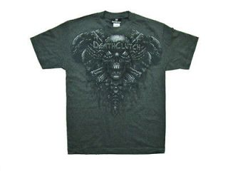 SHIRT GRAY SKULL LOGO TEE MMA BROCK LESNAR MENS SIZE MEDIUM