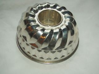 Vintage KAISER Angel Food Cake Tube Bundt Pan Made in West Germany
