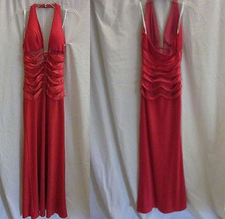 CASSANDRA STONE BRAS BUILT IN DARK PINK PROM WEDDING PARTY GOWN DRESS