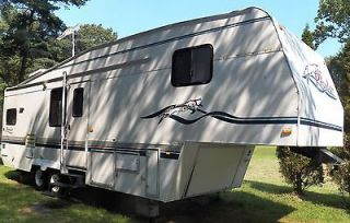 Recreational Vehicle RV Fifth Wheel Camper Trailer Motorhome 97