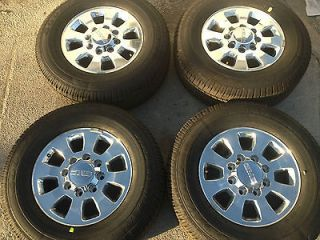 Rims and Tires Set 2500HD 3500 HD GM Chevy Rims Wheels and Tires 18