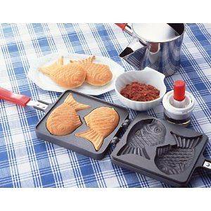 New Taiyaki making plate for Gus Stove Japanese fish shaped cake japan