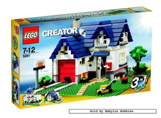 Creator   Apple Tree House (by Lego) 5891
