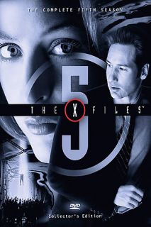 The X Files   The Complete Fifth Season DVD, 6 Disc Set, Sensormatic