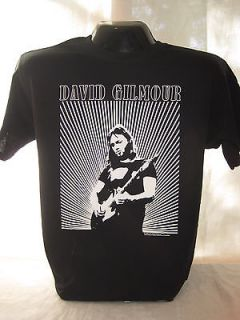 David Gilmour Guitarist Pink Floyd T Shirt Tee English Band Music New
