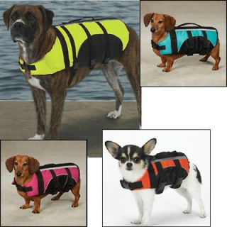 Gear Aquatic Safety PET PRESERVER Dog Life Vest Jacket ALL SIZES